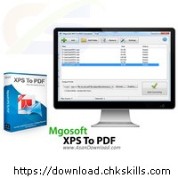Mgosoft-XPS-To-PDF